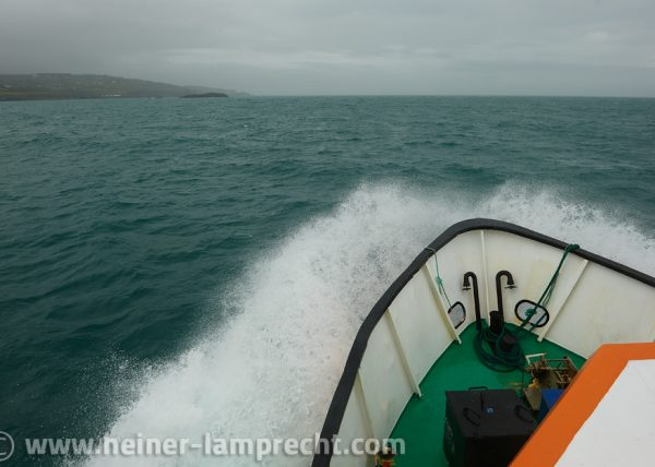 Approaching Cape Clear Island