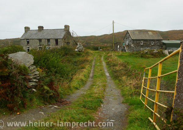 Courtyard entrance on Cape Clear Island