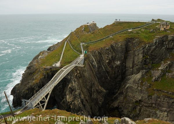 Bridge to Mizen Head lighthouse