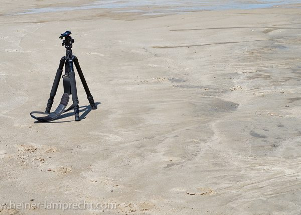 Lonely tripod