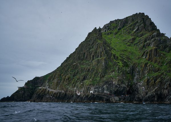 Approaching Skellig Michael