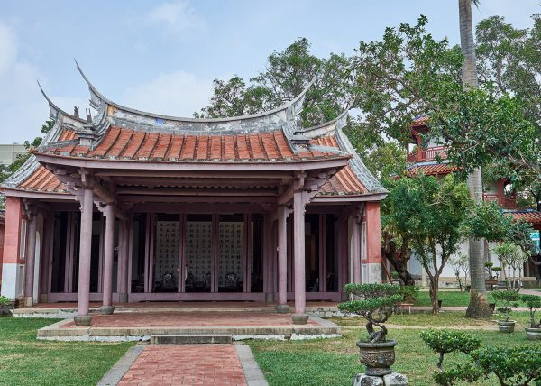 Hall of Edification - Confucian Temple - Tainan