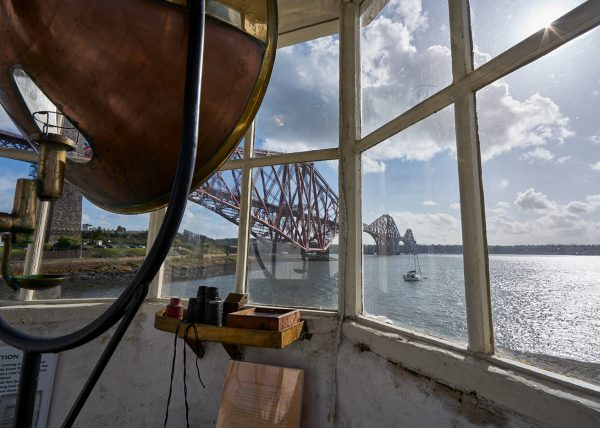 Inside Harbour Light Tower - North Queensferry