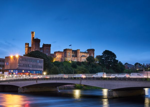 Ness Bridge and Inverness Castle